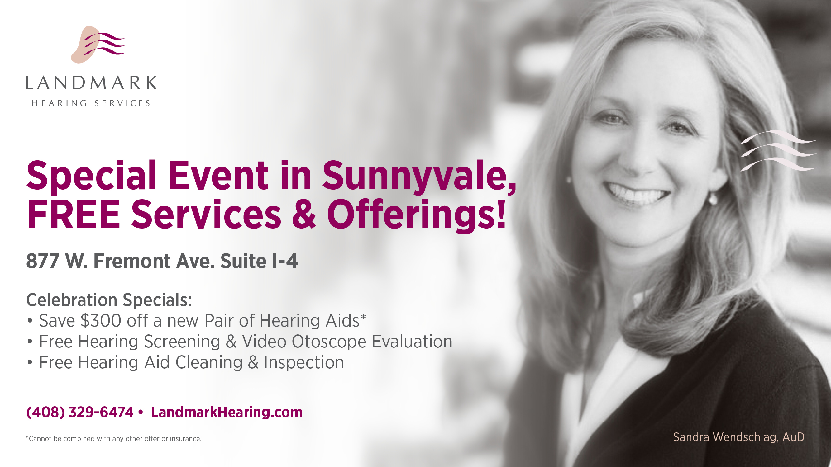 Join us in our Sunnyvale office for a special promotion